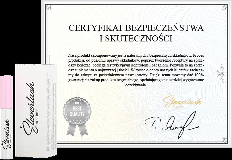 certyfikat eleverlash
